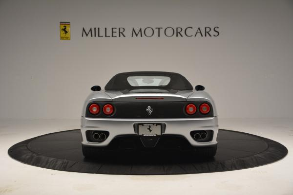 Used 2004 Ferrari 360 Spider 6-Speed Manual for sale Sold at Bentley Greenwich in Greenwich CT 06830 18