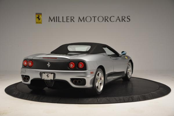 Used 2004 Ferrari 360 Spider 6-Speed Manual for sale Sold at Bentley Greenwich in Greenwich CT 06830 19
