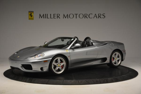 Used 2004 Ferrari 360 Spider 6-Speed Manual for sale Sold at Bentley Greenwich in Greenwich CT 06830 2