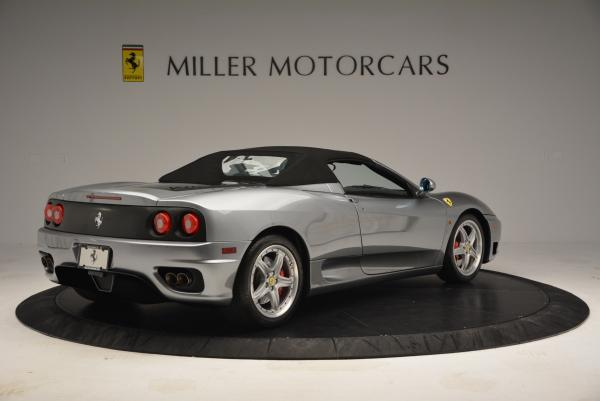 Used 2004 Ferrari 360 Spider 6-Speed Manual for sale Sold at Bentley Greenwich in Greenwich CT 06830 20