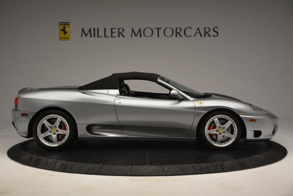 Used 2004 Ferrari 360 Spider 6-Speed Manual for sale Sold at Bentley Greenwich in Greenwich CT 06830 21
