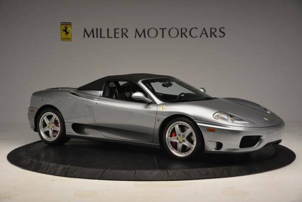 Used 2004 Ferrari 360 Spider 6-Speed Manual for sale Sold at Bentley Greenwich in Greenwich CT 06830 22