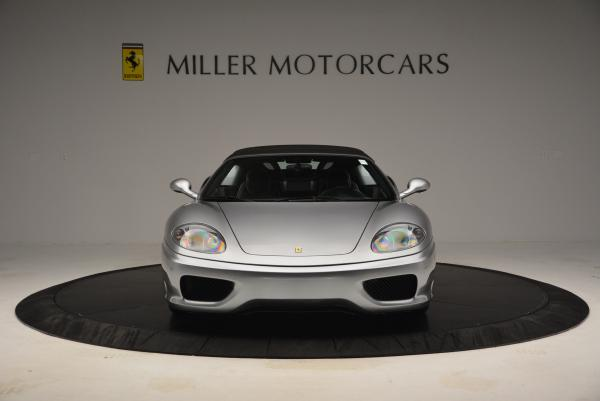 Used 2004 Ferrari 360 Spider 6-Speed Manual for sale Sold at Bentley Greenwich in Greenwich CT 06830 24