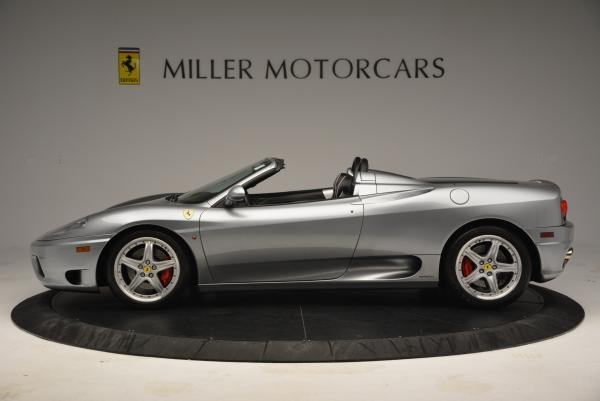 Used 2004 Ferrari 360 Spider 6-Speed Manual for sale Sold at Bentley Greenwich in Greenwich CT 06830 3