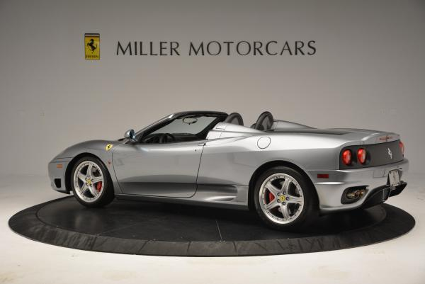 Used 2004 Ferrari 360 Spider 6-Speed Manual for sale Sold at Bentley Greenwich in Greenwich CT 06830 4