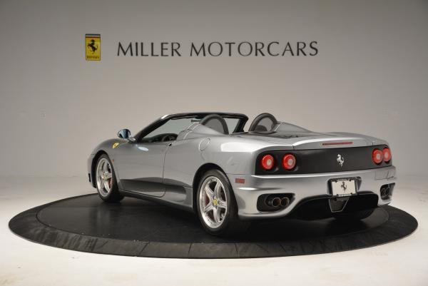 Used 2004 Ferrari 360 Spider 6-Speed Manual for sale Sold at Bentley Greenwich in Greenwich CT 06830 5