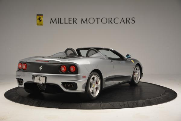 Used 2004 Ferrari 360 Spider 6-Speed Manual for sale Sold at Bentley Greenwich in Greenwich CT 06830 7