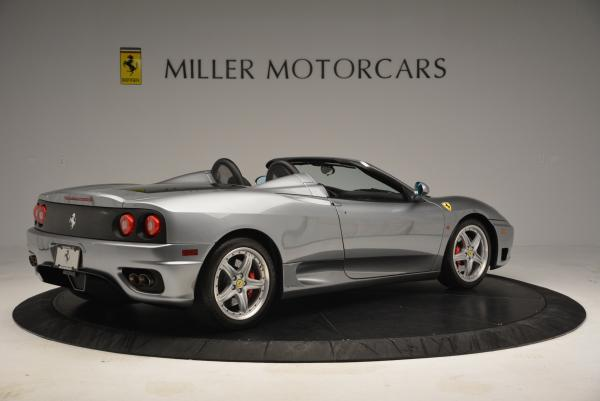 Used 2004 Ferrari 360 Spider 6-Speed Manual for sale Sold at Bentley Greenwich in Greenwich CT 06830 8