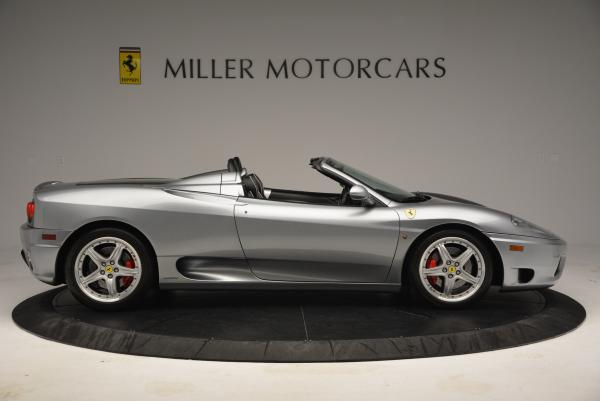 Used 2004 Ferrari 360 Spider 6-Speed Manual for sale Sold at Bentley Greenwich in Greenwich CT 06830 9