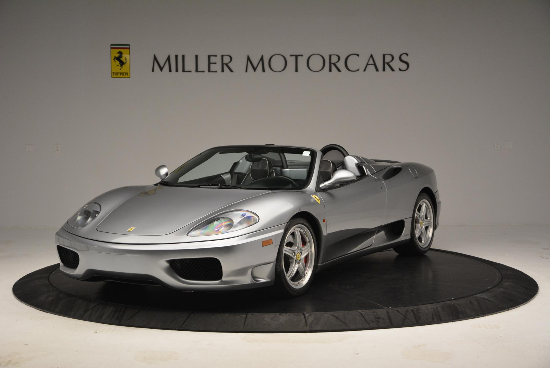 Used 2004 Ferrari 360 Spider 6-Speed Manual for sale Sold at Bentley Greenwich in Greenwich CT 06830 1