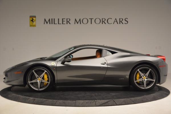 Used 2011 Ferrari 458 Italia for sale Sold at Bentley Greenwich in Greenwich CT 06830 3