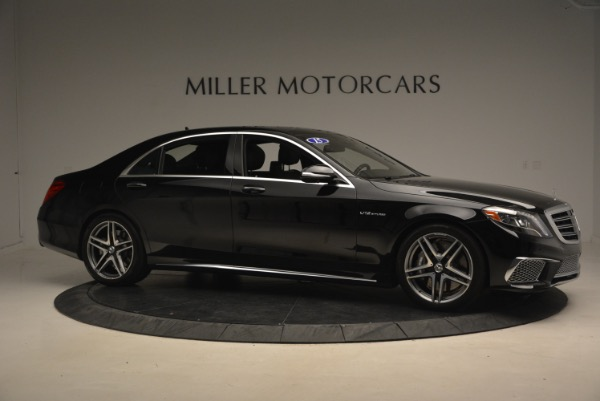 Used 2015 Mercedes-Benz S-Class S 65 AMG for sale Sold at Bentley Greenwich in Greenwich CT 06830 10