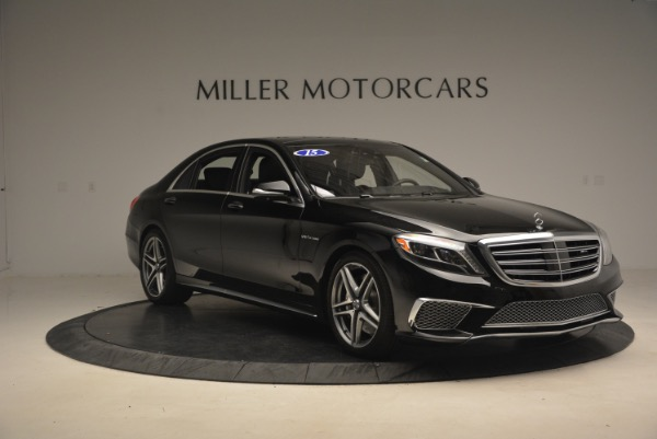 Used 2015 Mercedes-Benz S-Class S 65 AMG for sale Sold at Bentley Greenwich in Greenwich CT 06830 11
