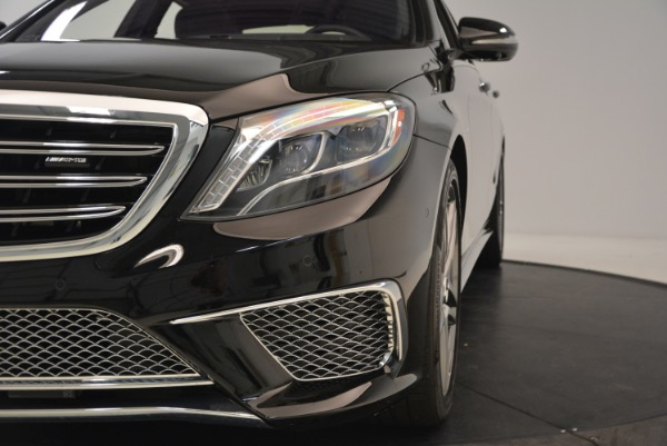 Used 2015 Mercedes-Benz S-Class S 65 AMG for sale Sold at Bentley Greenwich in Greenwich CT 06830 16