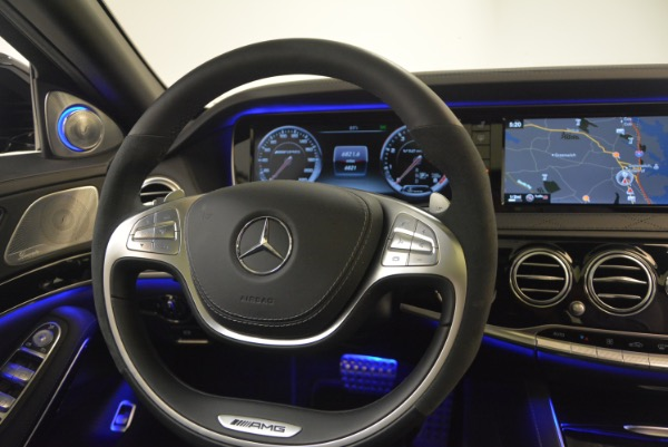 Used 2015 Mercedes-Benz S-Class S 65 AMG for sale Sold at Bentley Greenwich in Greenwich CT 06830 24