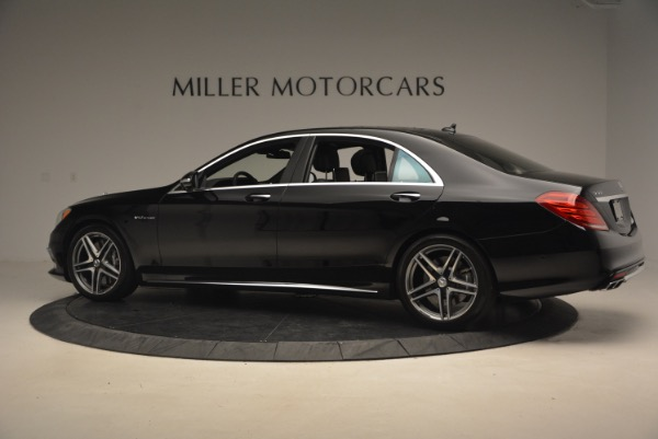 Used 2015 Mercedes-Benz S-Class S 65 AMG for sale Sold at Bentley Greenwich in Greenwich CT 06830 4