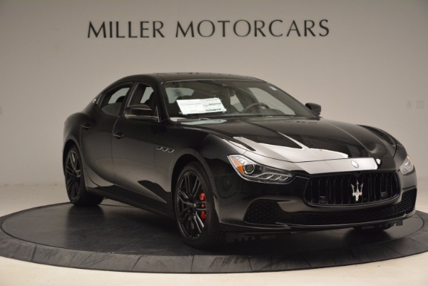 New 2017 Maserati Ghibli Nerissimo Edition S Q4 for sale Sold at Bentley Greenwich in Greenwich CT 06830 11