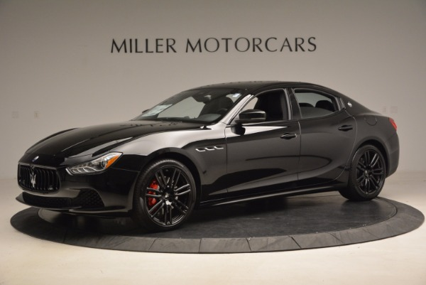 New 2017 Maserati Ghibli Nerissimo Edition S Q4 for sale Sold at Bentley Greenwich in Greenwich CT 06830 2