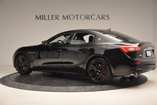 New 2017 Maserati Ghibli Nerissimo Edition S Q4 for sale Sold at Bentley Greenwich in Greenwich CT 06830 4