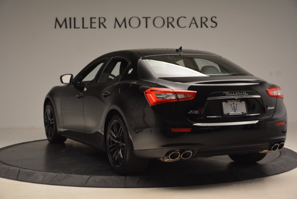 New 2017 Maserati Ghibli Nerissimo Edition S Q4 for sale Sold at Bentley Greenwich in Greenwich CT 06830 5