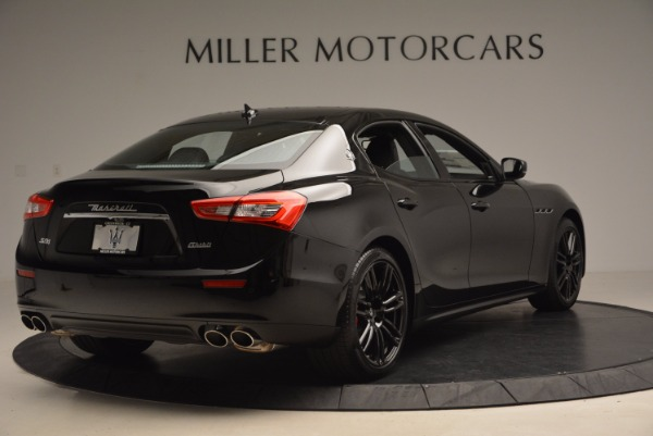 New 2017 Maserati Ghibli Nerissimo Edition S Q4 for sale Sold at Bentley Greenwich in Greenwich CT 06830 7