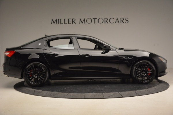 New 2017 Maserati Ghibli Nerissimo Edition S Q4 for sale Sold at Bentley Greenwich in Greenwich CT 06830 9