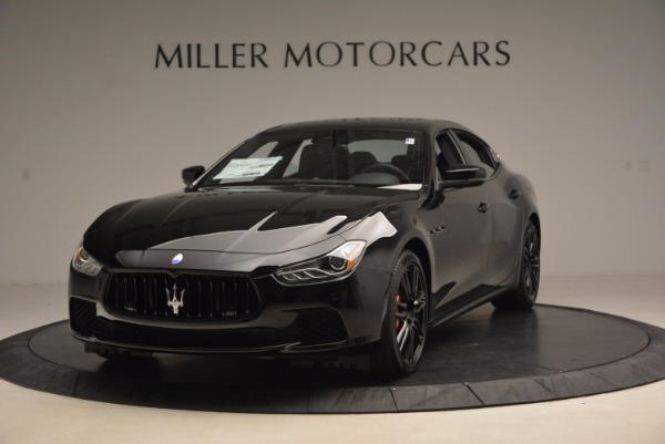 New 2017 Maserati Ghibli Nerissimo Edition S Q4 for sale Sold at Bentley Greenwich in Greenwich CT 06830 1