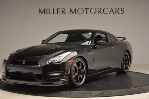 Used 2014 Nissan GT-R Track Edition for sale Sold at Bentley Greenwich in Greenwich CT 06830 1