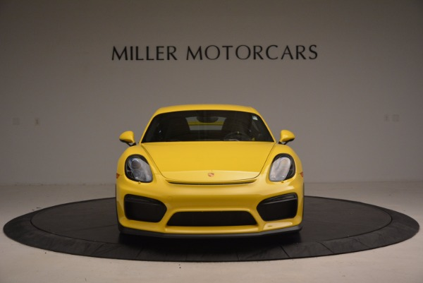 Used 2016 Porsche Cayman GT4 for sale Sold at Bentley Greenwich in Greenwich CT 06830 12