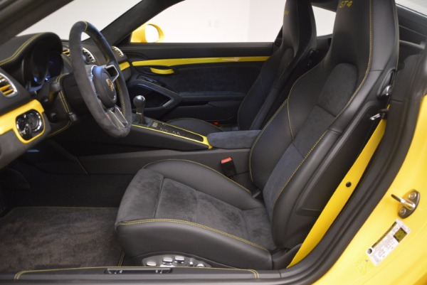Used 2016 Porsche Cayman GT4 for sale Sold at Bentley Greenwich in Greenwich CT 06830 14