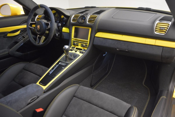 Used 2016 Porsche Cayman GT4 for sale Sold at Bentley Greenwich in Greenwich CT 06830 17