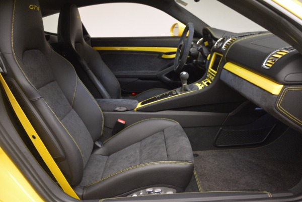 Used 2016 Porsche Cayman GT4 for sale Sold at Bentley Greenwich in Greenwich CT 06830 18
