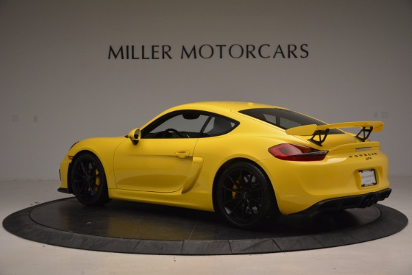 Used 2016 Porsche Cayman GT4 for sale Sold at Bentley Greenwich in Greenwich CT 06830 4