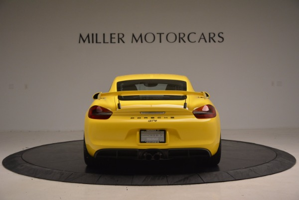 Used 2016 Porsche Cayman GT4 for sale Sold at Bentley Greenwich in Greenwich CT 06830 6