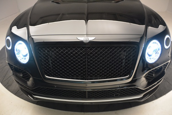 New 2018 Bentley Bentayga Black Edition for sale Sold at Bentley Greenwich in Greenwich CT 06830 15