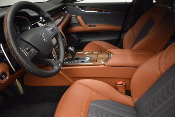New 2017 Maserati Quattroporte S Q4 GranLusso for sale Sold at Bentley Greenwich in Greenwich CT 06830 15