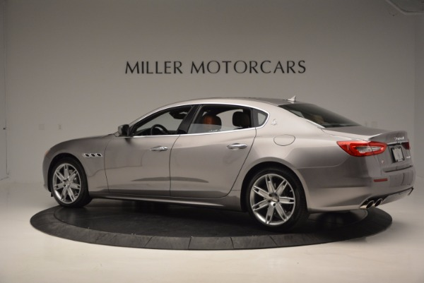 New 2017 Maserati Quattroporte S Q4 GranLusso for sale Sold at Bentley Greenwich in Greenwich CT 06830 4