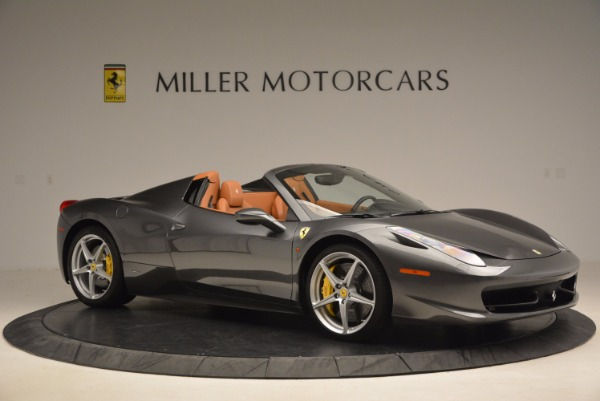 Used 2015 Ferrari 458 Spider for sale Sold at Bentley Greenwich in Greenwich CT 06830 10
