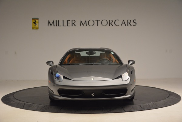 Used 2015 Ferrari 458 Spider for sale Sold at Bentley Greenwich in Greenwich CT 06830 24