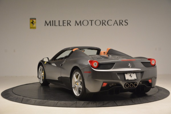 Used 2015 Ferrari 458 Spider for sale Sold at Bentley Greenwich in Greenwich CT 06830 5