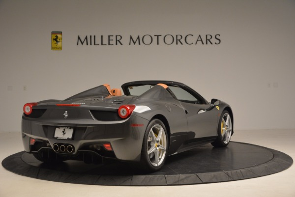 Used 2015 Ferrari 458 Spider for sale Sold at Bentley Greenwich in Greenwich CT 06830 7