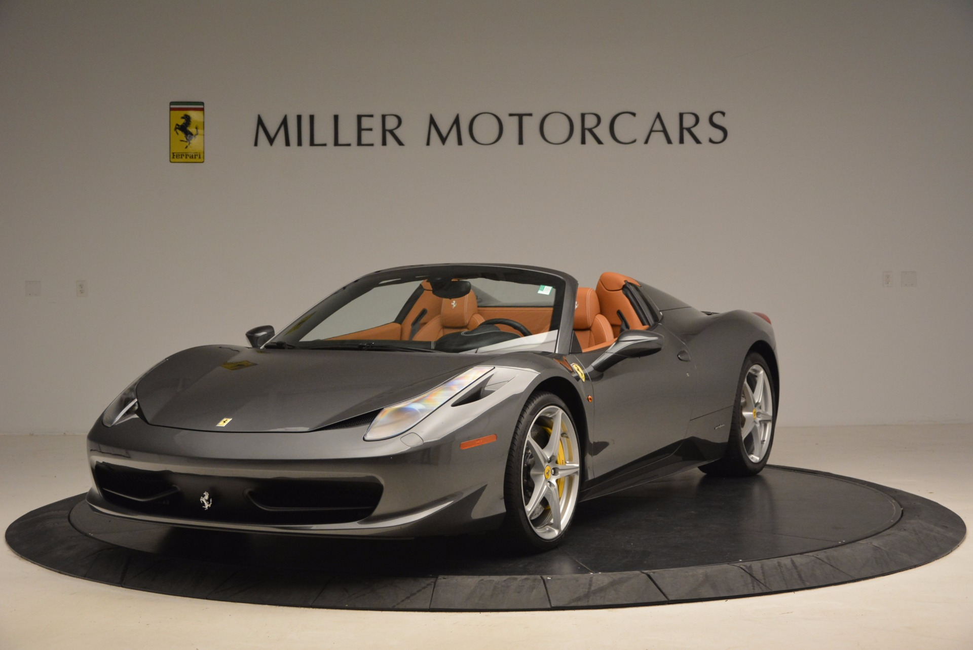 Used 2015 Ferrari 458 Spider for sale Sold at Bentley Greenwich in Greenwich CT 06830 1