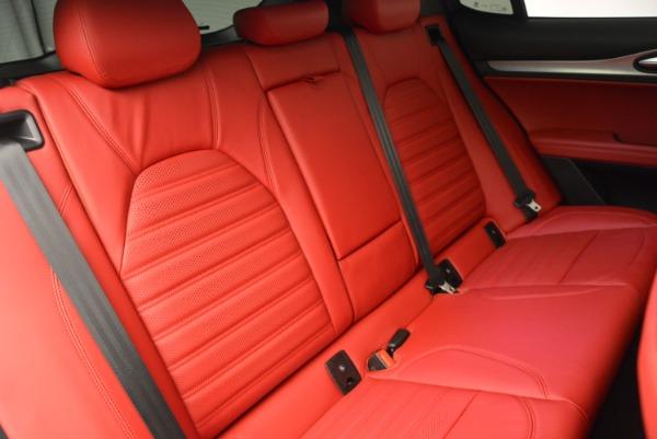 New 2018 Alfa Romeo Stelvio Ti Sport Q4 for sale Sold at Bentley Greenwich in Greenwich CT 06830 24