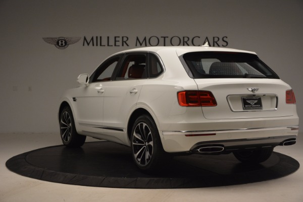 New 2018 Bentley Bentayga Onyx Edition for sale Sold at Bentley Greenwich in Greenwich CT 06830 5