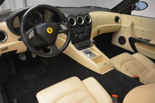 Used 2003 Ferrari 575M Maranello 6-Speed Manual for sale Sold at Bentley Greenwich in Greenwich CT 06830 13