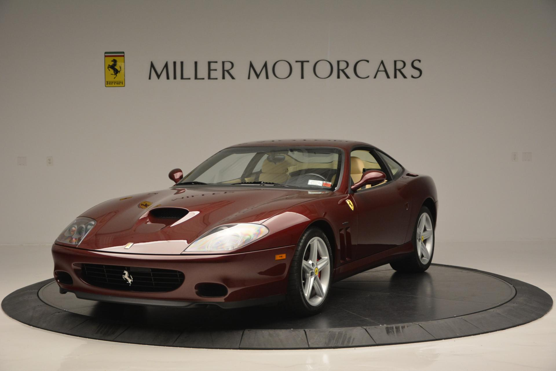 Used 2003 Ferrari 575M Maranello 6-Speed Manual for sale Sold at Bentley Greenwich in Greenwich CT 06830 1