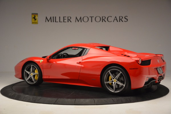 Used 2014 Ferrari 458 Spider for sale Sold at Bentley Greenwich in Greenwich CT 06830 16