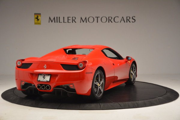 Used 2014 Ferrari 458 Spider for sale Sold at Bentley Greenwich in Greenwich CT 06830 19