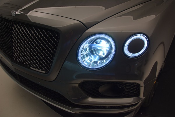 New 2018 Bentley Bentayga Black Edition for sale Sold at Bentley Greenwich in Greenwich CT 06830 18