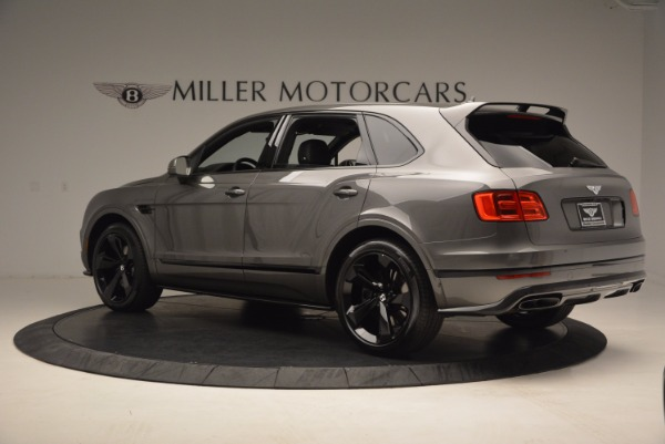 New 2018 Bentley Bentayga Black Edition for sale Sold at Bentley Greenwich in Greenwich CT 06830 5